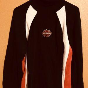 Vintage Harley Davidson turtleneck sweater